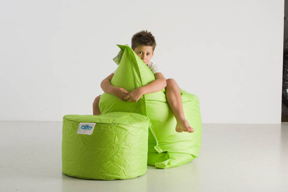 Kids Bean bags - Bright and ready to use