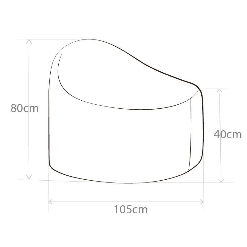 Circular Lounger Bean Bag   Bliss Bean Bags Australia